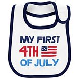 Baby Carter's First 4th Of July Teething Bib