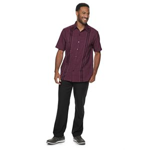 Men's Haggar® Microfiber Button-Down Shirt