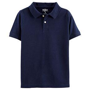 Boys 4-14 OshKosh B'gosh Pique Uniform Polo