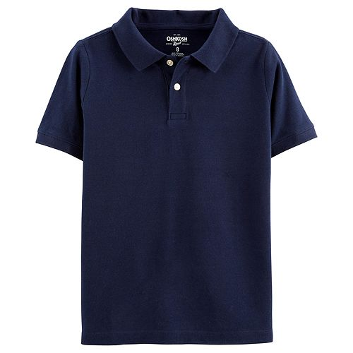 Boys 4-14 OshKosh B'gosh Pique Uniform Polo