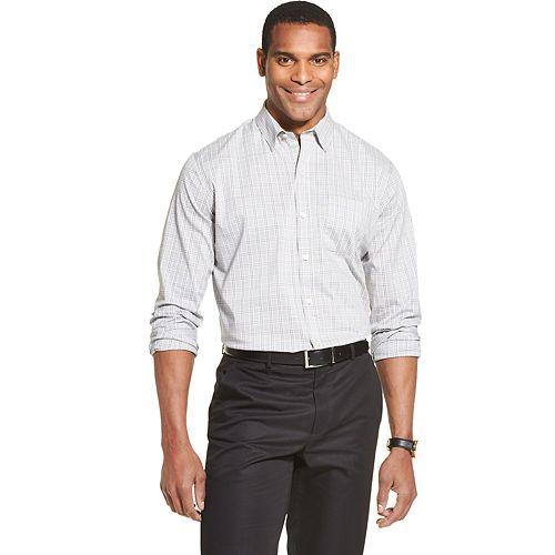 Men's Van Heusen Traveler Slim-Fit Stretch Button-Down Shirt