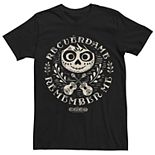Men's Disney Pixar Coco Circle Logo Remember Me Graphic Tee