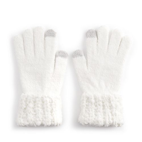 Women's SONOMA Goods for Life™ Chenille Cuff Tech Glove