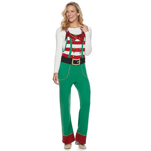 Women's US Sweaters Christmas Overall Jumper