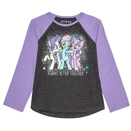 """Girls 4-12 Jumping Beans® My Little Pony """"Always Better Together"""" Graphic Tee"""