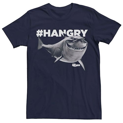 Men's Disney Pixar Finding Nemo Hangry Bruce Graphic Tee