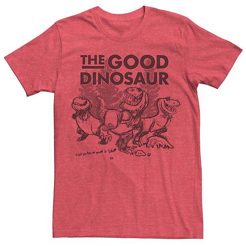 Men's Disney Pixar Good Dinosaur Sketched Dino Group Tee