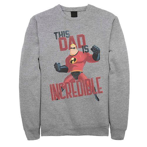 Men's Disney Pixar Incredibles This Dad Is Incredible Fleece