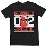 Men's Disney Pixar Incredibles 2 Mr. Incredible To The Rescue Graphic Tee