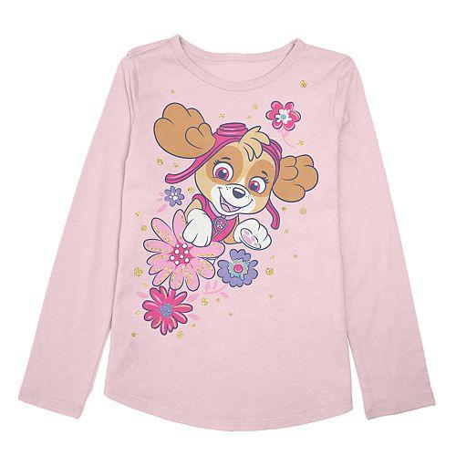 Girls 4-12 Jumping Beans® Paw Patrol Skye Long Sleeve Graphic Tee