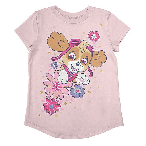 Girls 4-12 Jumping Beans® Paw Patrol Skye Short Sleeve Graphic Tee
