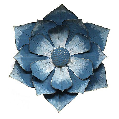 Stratton Home Decor Ipomoea Metal Flower Wall Decor