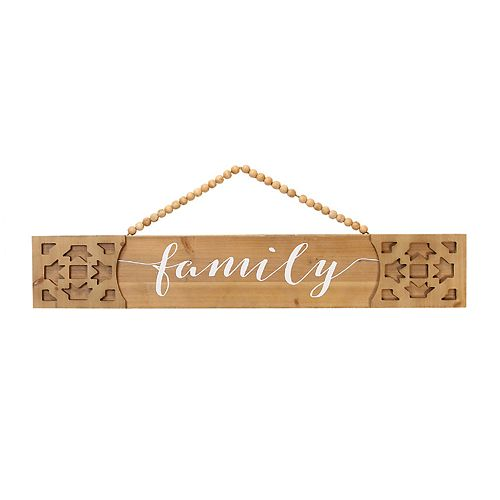 "Stratton Home Decor Nordic ""Family"" Wall Decor"