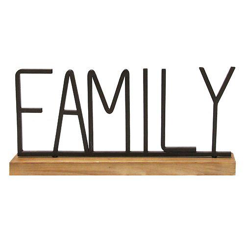Stratton Home Decor Family Table Decor