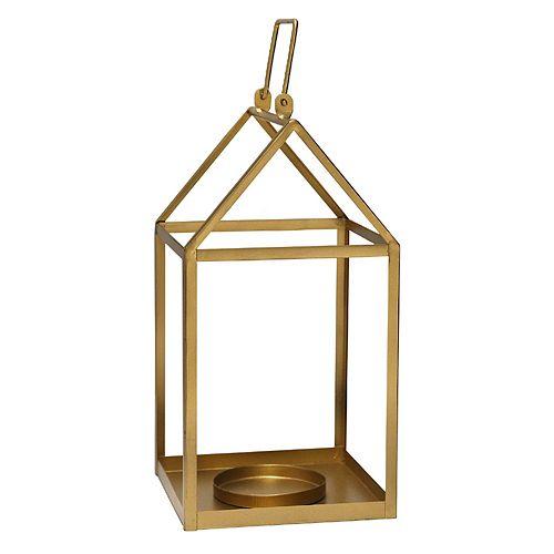 Stratton Home Decor Gold Finish Lantern