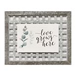 Stratton Home Decor Love Grows Here Wall Decor
