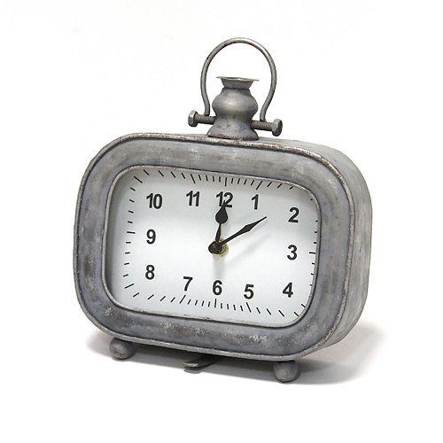 Stratton Home Decor Alexander Table Clock