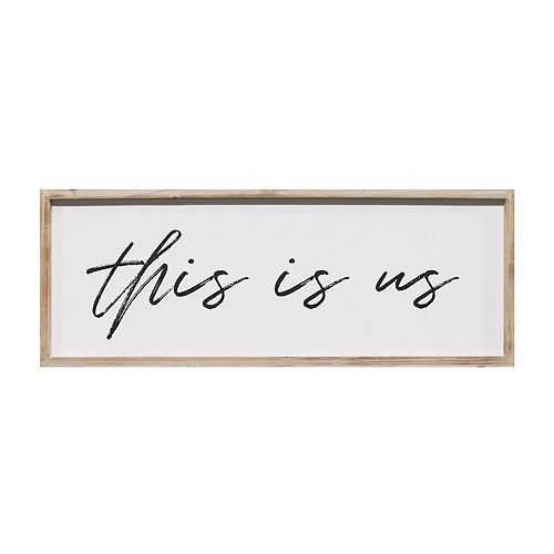 Stratton Home Decor This is Us Wall Decor