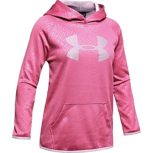 Girls' 7-16 Under Armour Armour Fleece® Emboss Hoodie
