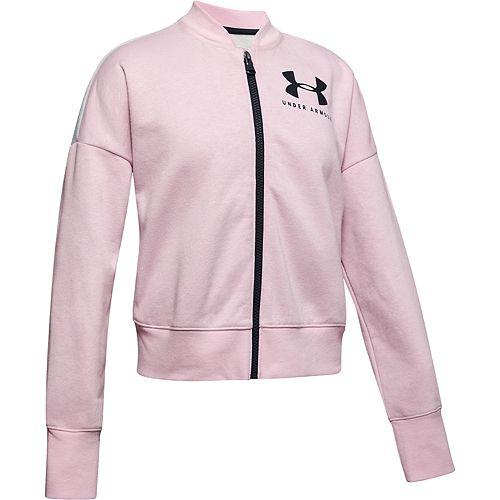 Girls 7-16 Under Armour Fleece Colorblock Full Zip Sweatshirt