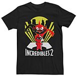 Men's Disney Pixar Incredibles 2 Devil Jack Jack Tee