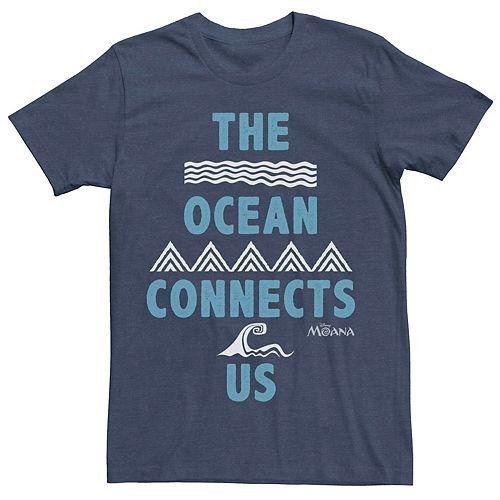 Men's Disney Moana The Ocean Connects Us Tee
