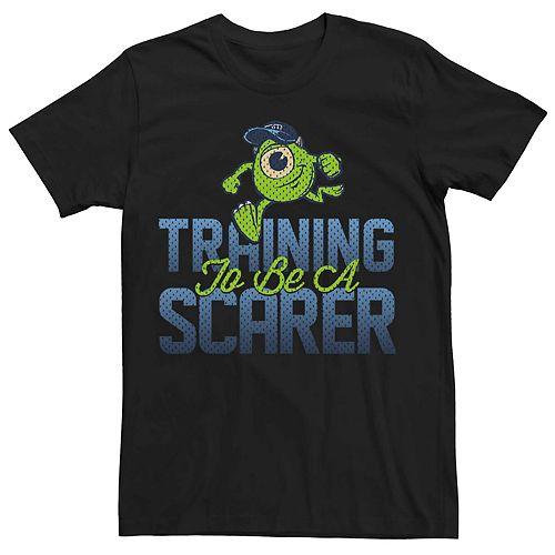Men's Disney Pixar Monsters Scarer In Training Tee