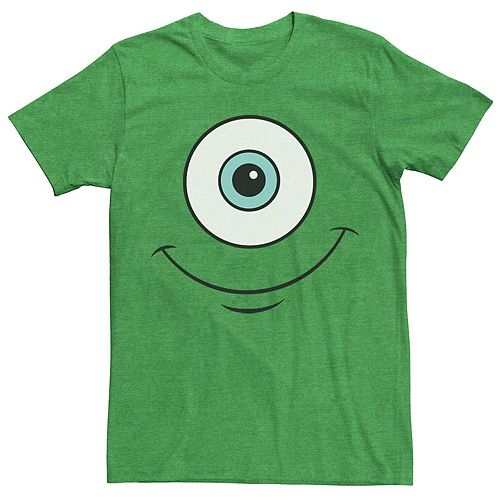 Men's Disney Pixar Monsters University Mike Eye Costume Tee