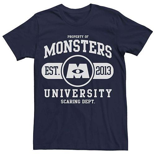 Men's Disney Pixar Monsters University School Logo Tee