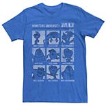 Men's Disney Pixar Monsters University Vintage Yearbook Tee