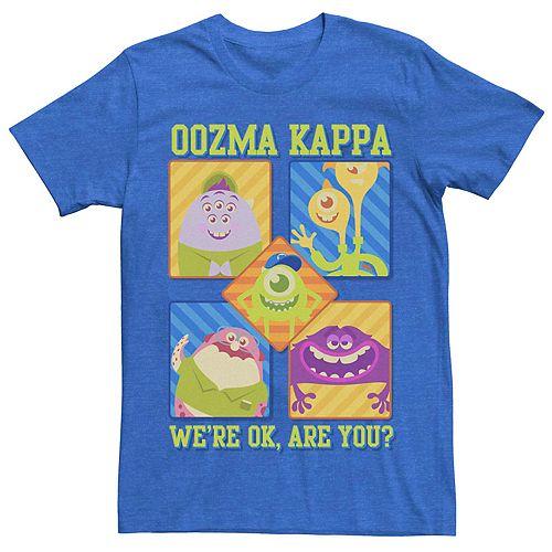 Men's Disney Pixar Monsters University Oozma Kappa Cartoon Group Tee