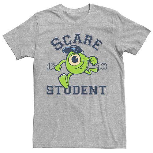 Men's Disney Pixar Monsters University Mike Scare Student Tee
