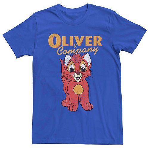 Men's Disney Oliver and Company Vintage Oliver Poster Tee