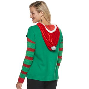 Women's US Sweaters Hooded Christmas Sweater