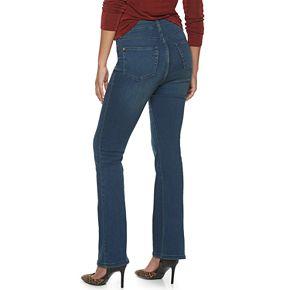 Women's Jennifer Lopez Flawless Sculpt High-Waisted Flare Jeans