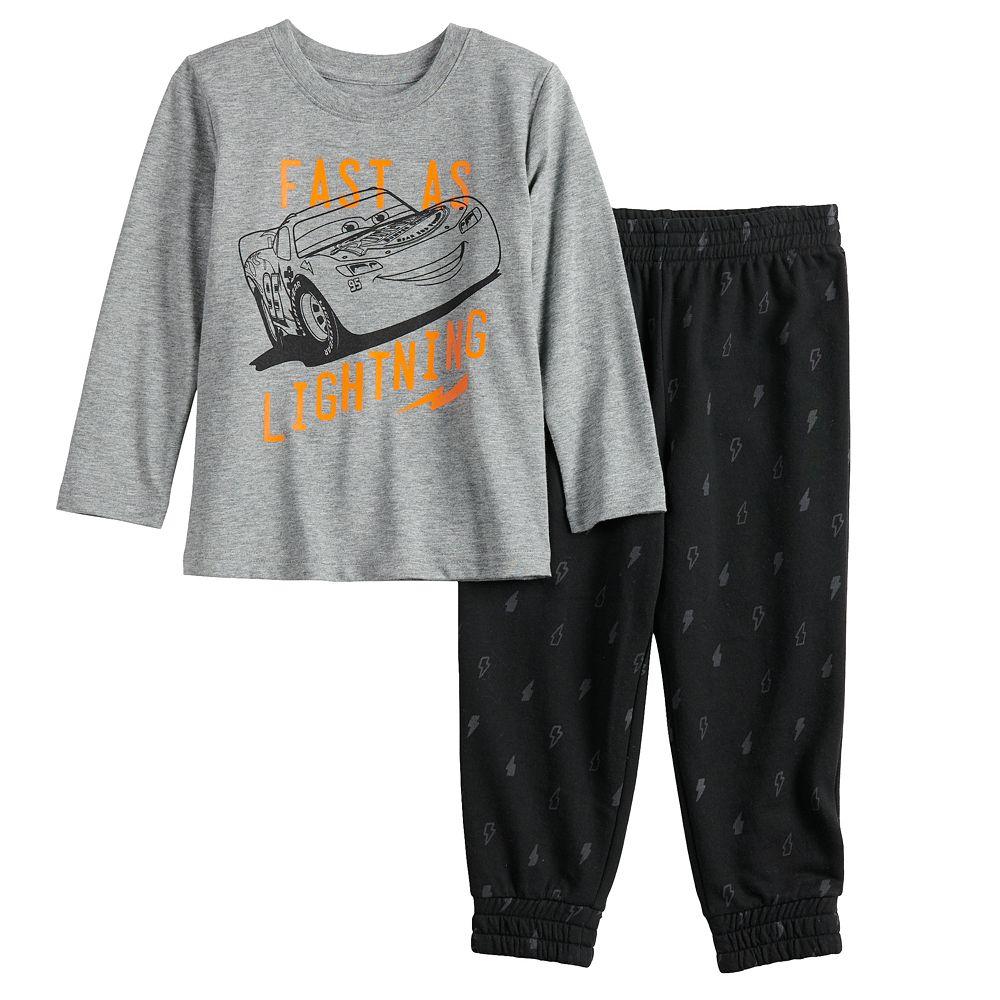 Disney / Pixar Cars Toddler Boy Lightning McQueen Tee & Joggers Pants Set by Jumping Beans®