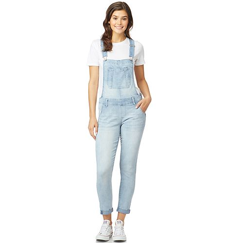 Juniors' WallFlower Tomboy Overalls