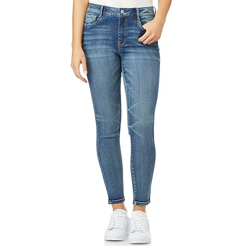 Juniors' WallFlower Stellar High Rise Ankle Jeans