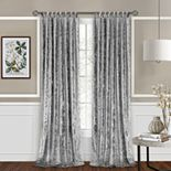 Achim Harper Criss-Cross Window Curtain Panel