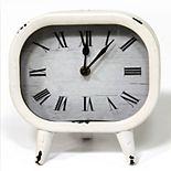 Stratton Home Decor Susie Retro Table Clock