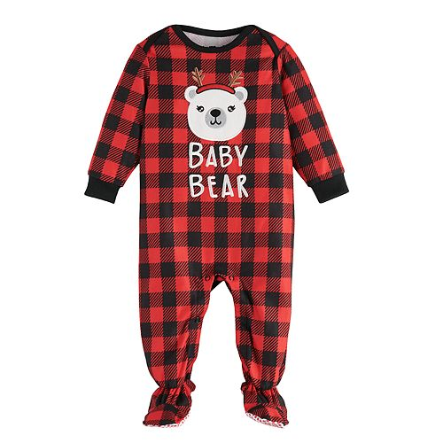 Baby Jammies For Your Families Cool Bear Sleep & Play by Cuddl Duds