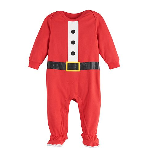 Baby Jammies For Your Families Fun Santa Sleep & Play by Cuddl Duds