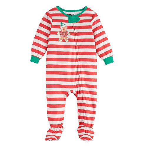 Baby Jammies For Your Families Stripe Baking Sleep & Play by Cuddl Duds