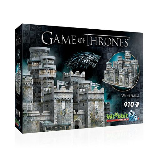 Wrebbit 3D Game Of Thrones Winterfell 3D Puzzle