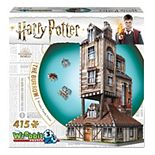 Wrebbit Harry Potter The Burrow Weasley Family Home 415-Piece 3D Puzzle