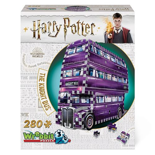 Wrebbit3D Harry Potter The Knight Bus Puzzle