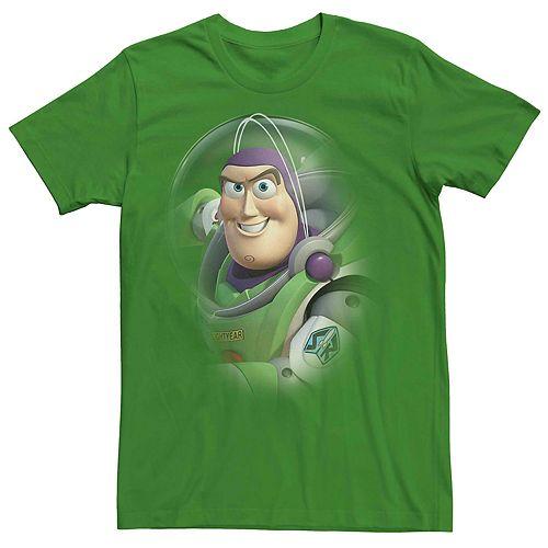 Men's Disney Pixar Toy Story Buzz Lightyear Portrait Tee