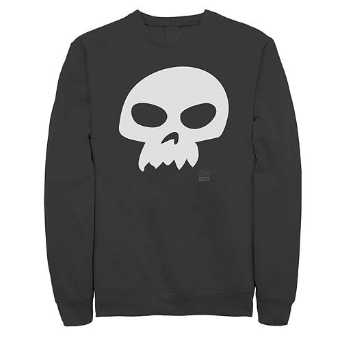 Men's Disney Pixar Toy Story Sid Skull Logo Fleece
