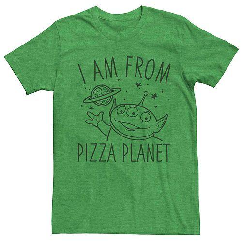 Men's Disney Pixar Toy Story Alien From Pizza Planet Tee