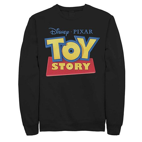 Men's Disney Pixar Toy Story Classic Movie Logo Fleece Sweater